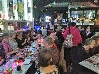 4a - Christmas meal at Grappa Restaurant