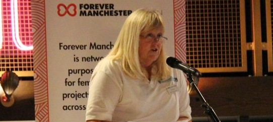 6 - Karen Elliott, guest speaker at Forever Manchester Women